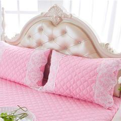 2017 新款夹棉—枕套 夹棉枕套 花的嫁衣-粉