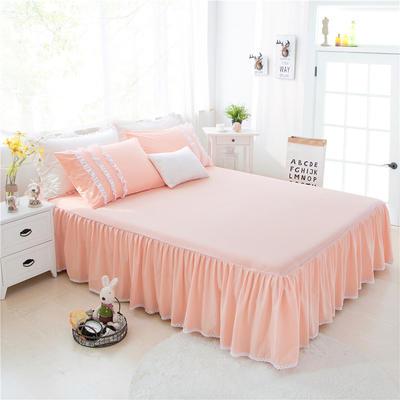 2017 新款单层床裙-欧美田园风系列 花边枕套(一对) 甜蜜玉