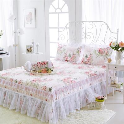 2017-花卉系列床裙 1.2米 新-爱丁堡粉
