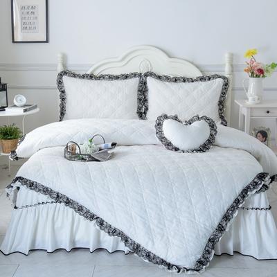 罗马假日系列全棉被套 155*205cm 珍珠白