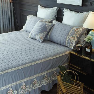 2018-床裙-全棉水洗加棉款 1.2m(配包装) 灰尼