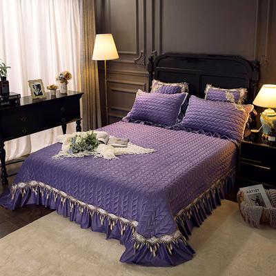 2018新款贵妃床盖 245*250cm 浪漫紫