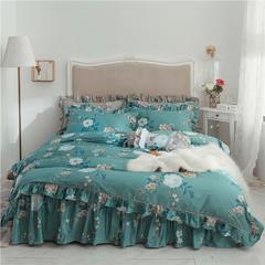 2019新款美式-铂金系列床裙四件套 1.2米三件套 梦安娜