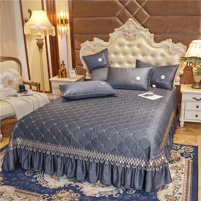 2020新款-60-支长绒棉-山茶花系列床盖 床盖250*250cm 绅灰