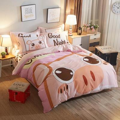 40平网大版 1.5米床单款 萌萌小猪
