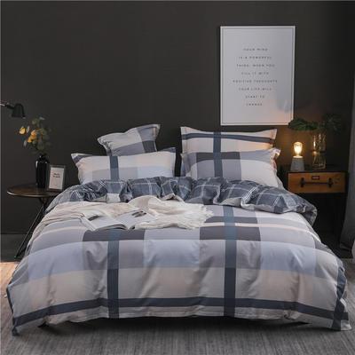2019新品12868全棉印花四件套 1.5m(5英尺)床 简约至上