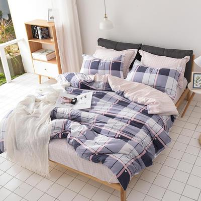 2019新品12868全棉印花四件套 1.2m(4英尺)床 时尚摩洛哥