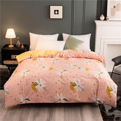 2020新款棉加绒AB款印花系列--单被套 180x220cm单被套 蔷薇花语