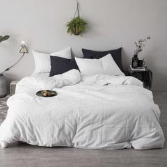 刺子棉六件套 标准1.5m-1.8m床 白