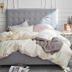 长绒棉dearlife系列四件套 标准1.5m-1.8m床 dearlife-白