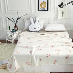 2017 新款天竺棉印花系列夏被 100*150cm 萌兔兔