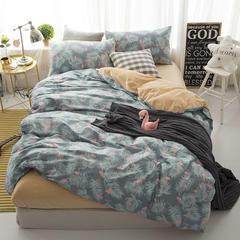 棉加绒四件套 1.2m(4英尺)床 绿野仙踪
