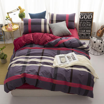 棉加绒四件套 1.2m(4英尺)床 最终幻想