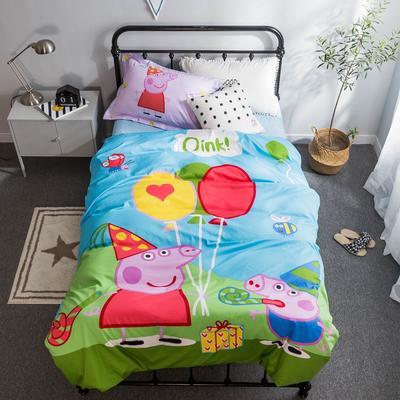 2018新款大版卡通活性保暖三件套 1.2m(4英尺)床 小奇奇