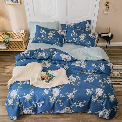 2019新款-全棉余额宝消费红包怎么提现 床单款三件套1.2m(4英尺)床 爱茉莉