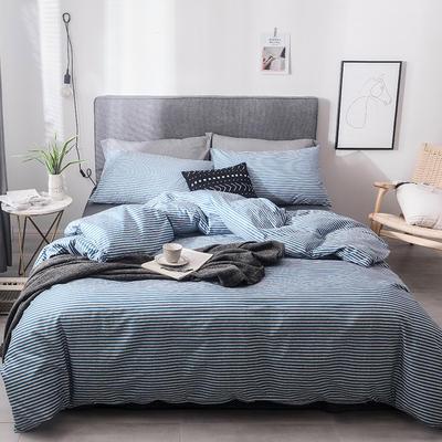 2019新款-全棉四件套 床单款四件套1.5m(5英尺)床 欢乐时光