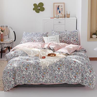 2019新款-13070全棉四件套 床单款三件套1.2m(4英尺)床 纳齐娅