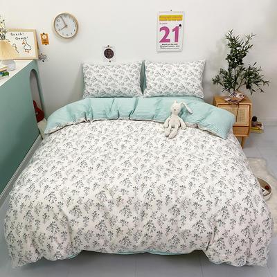 2021新款-全棉印花四件套 1.5m床单款四件套 苏蜜儿