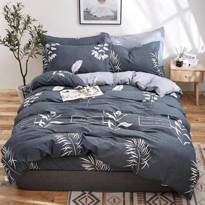 2018新款全棉12868多规格四件套 1.0m(3.3英尺)床三件套 梦里花开