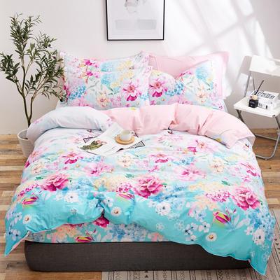 2018新款全棉12868多规格四件套 1.0m(3.3英尺)床三件套 提拉米苏