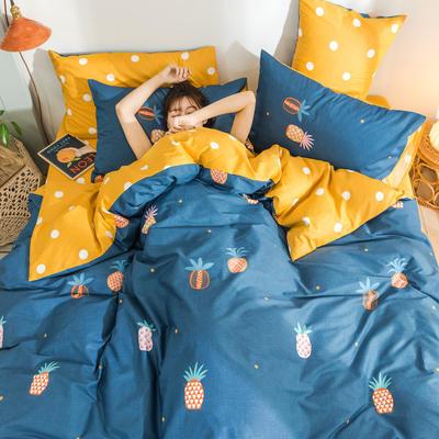 2019新款13372新疆长绒棉四件套 1.2m床单款三件套 卡萝