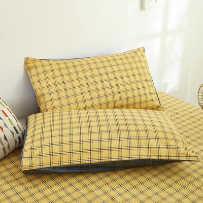 2020新款13372新疆长绒棉单品枕套 48*74cm/只  口袋枕套 基尼