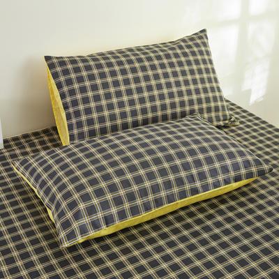 2020新款13372新疆长绒棉单品枕套 48*74cm/只  口袋枕套 兰博