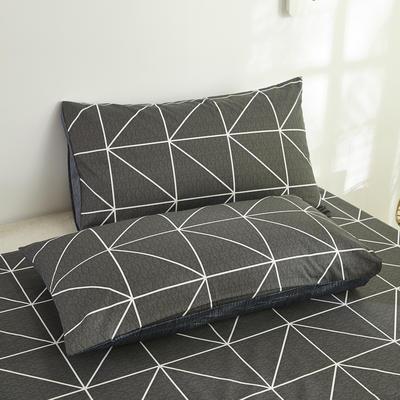 2020新款全棉13070单品枕套 48*74cm/对  口袋枕套 玛莎