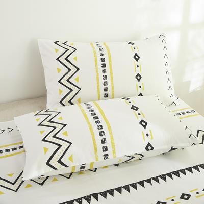 2020新款13372新疆长绒棉单品枕套 48*74cm/只  口袋枕套 米亚