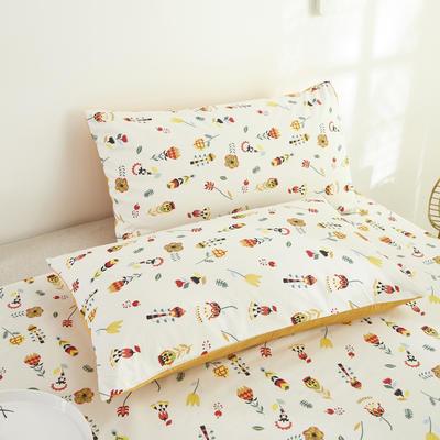 2020新款13372新疆长绒棉单品枕套 48*74cm/只  口袋枕套 苏西