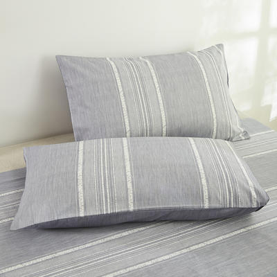 2020新款13372新疆长绒棉单品枕套 48*74cm/只  口袋枕套 沃克