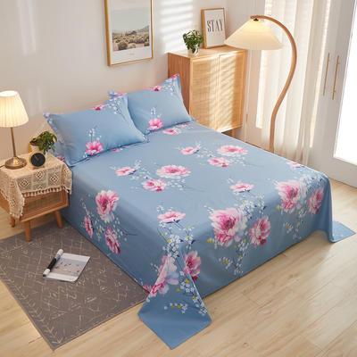 2020新款全棉12868单床单系列长期花型 100cmx230cm 爱莉丝