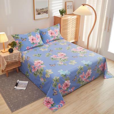 2020新款全棉12868单床单系列长期花型 160cmx230cm 梅琳达兰