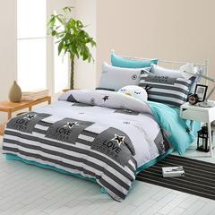 全棉宽幅床单款三件套 1.0m(3.3英尺)床 拉屋