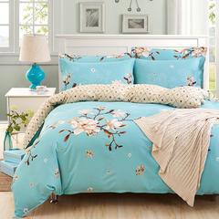 全棉宽幅床单款三件套 1.2m(4英尺)床 岁月留香