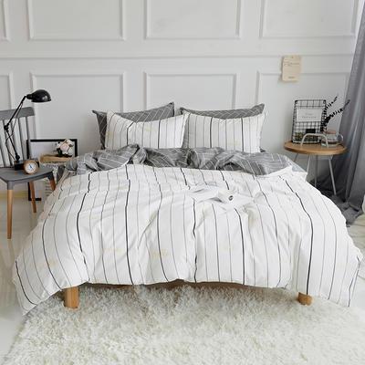 2018春夏新款13070全棉四件套 床单款1.2m床 青春年华