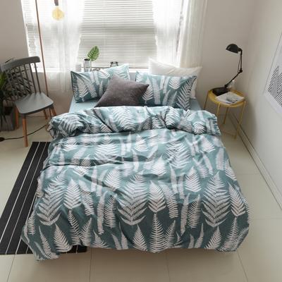 2018春夏新款13372全棉四件套 床单款小号 约定