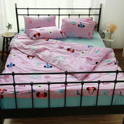 专版宝宝绒印花水晶绒套件 1.2m(4英尺)床 缤纷乐园