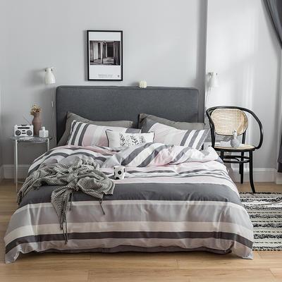 2019新款-全棉简约轻奢系列四件套 床单款1.2m(4英尺)床 晴天