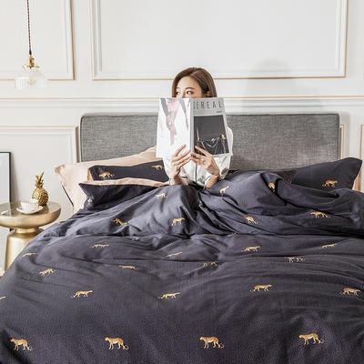 2019新款-北欧轻奢风系列四件套 三件套1.2m(4英尺)床 1.芙拉