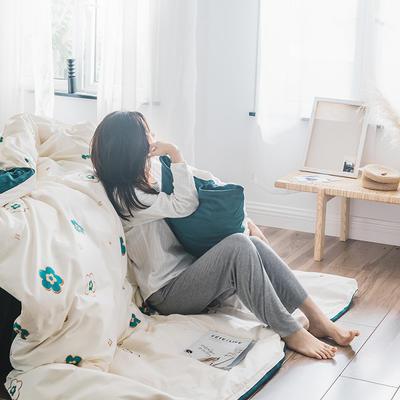 2019新款-治愈系秋冬棉绒四件套 床单款三件套1.2m(4英尺)床 万花筒