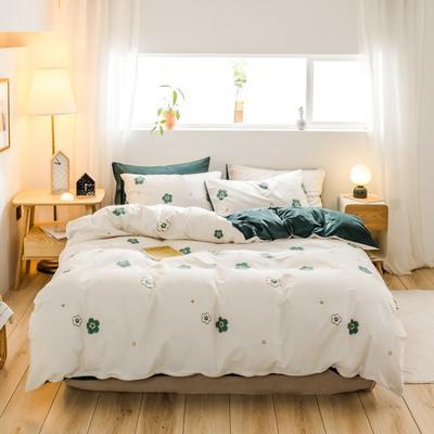 2019新款-治愈系秋冬棉绒四件套(B组风格) 床单款三件套1.2m(4英尺)床 万花筒