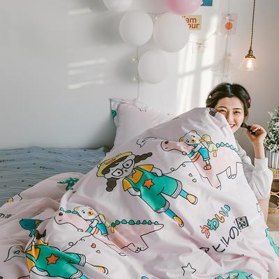 2020新款-日系呆萌卡通系列四件套电子图 床单款三件套1.2m(4英尺)床 A元气少女
