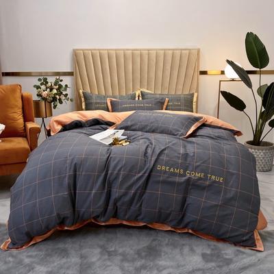 2020新款-梦想系列四件套实拍图 床单款三件套1.2m(4英尺)床 爱彼