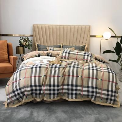 2020新款-梦想系列四件套实拍图 床单款四件套1.5m(5英尺)床 宝莉格