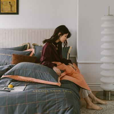 2020新款-梦想系列四件套模特图 床单款四件套1.5m(5英尺)床 爱彼