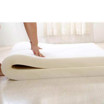 长绒棉海绵床垫 80*190cm 8CM厚光海绵芯子