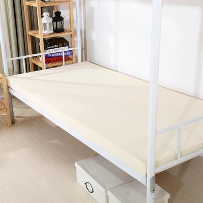 钻石绒海绵床垫学生床床垫 90*190cm 光海绵床垫3CM厚