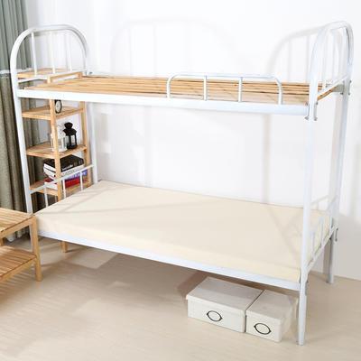 钻石绒海绵床垫学生床床垫 90*190cm 光海绵床垫5CM厚