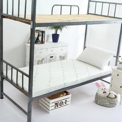针织海绵床垫小床床垫 90*190cm 3CM厚竹纤维